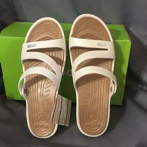"CROCS Women's""Patricia""Open Slide Sandals"